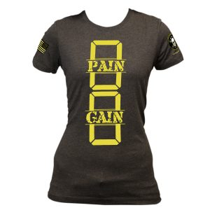 0 Pain 0 Gain – Women