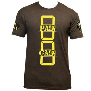 0 Pain 0 Gain – Men