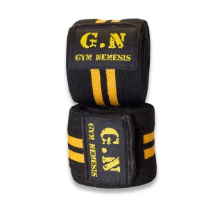 Neoprene weight lifting knee wraps